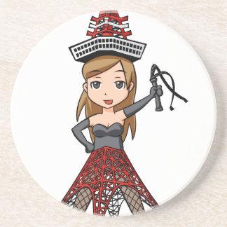 The woman English story, Minato Tokyo Yuru-chara a Coaster