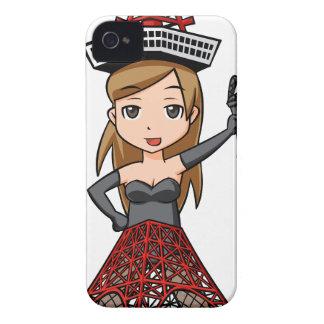 The woman English story, Minato Tokyo Yuru-chara a iPhone 4 Cases