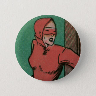 The Woman in Red 2 Inch Round Button