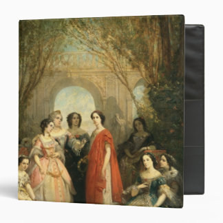 The Women of the Comedie Francaise Binder