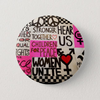 "The Women's March Continues, Pin (2.25"" round)"