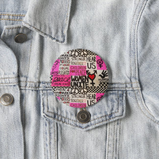 "The Women's March Continues, Pin (3"" round)"