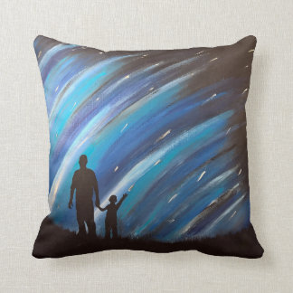 The Wonder of Fatherhood Accent Pillow