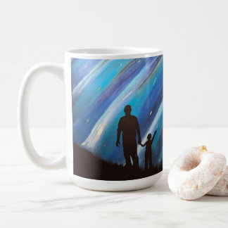 The Wonder of Fatherhood Large Mug