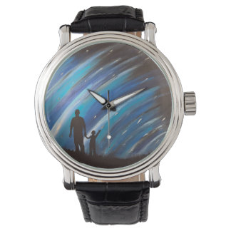 The Wonder of Fatherhood Leather Watch