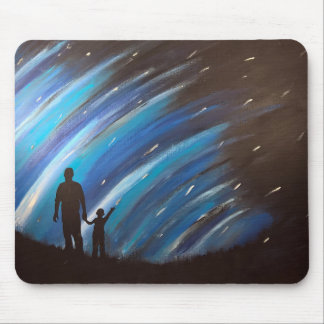 The Wonder of Fatherhood Mouse Pad