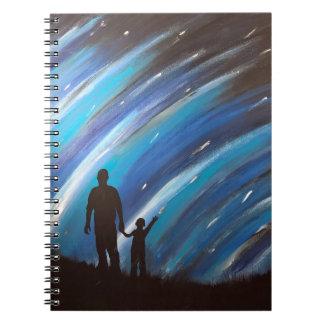 The Wonder of Fatherhood Spiral Notebook