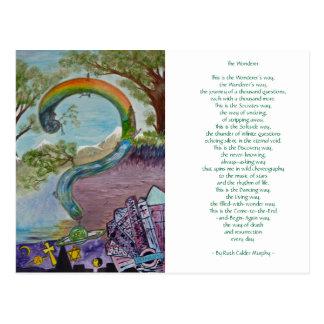 The Wonderer - By Ruth Calder Murphy - Postcard