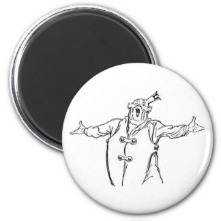 The wonderful chess of Oz 2 Inch Round Magnet