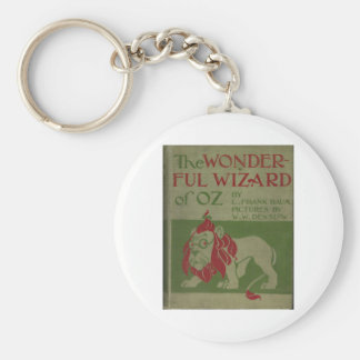 The Wonderful Wizard Of Oz Basic Round Button Keychain