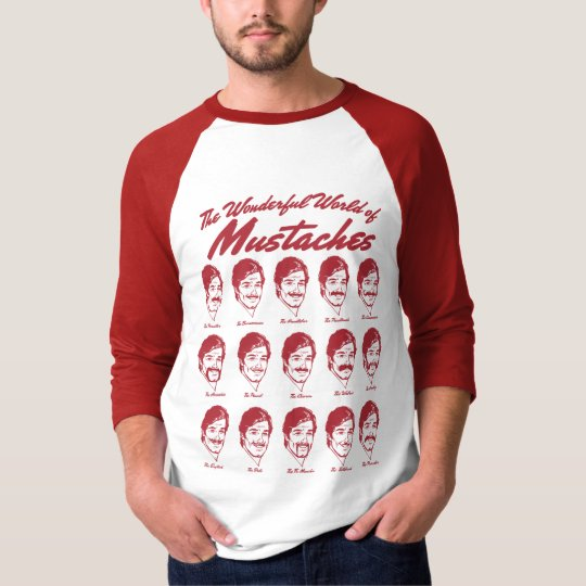 The Wonderful World of Moustaches Shirt