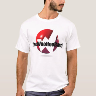 The Woo Hoo Band white T-shirt