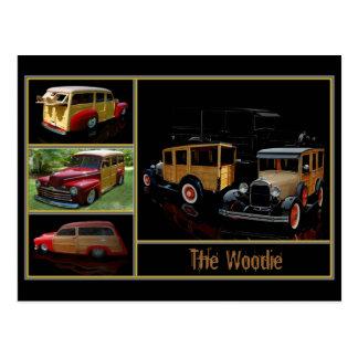 The Woodie Postcard