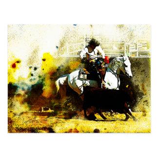 The Working Arabian Stockhorse Postcard