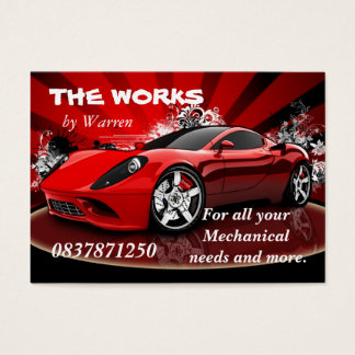 The  Works Business Card