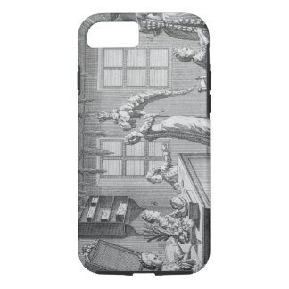 The workshop of a dressmaker, illustration from th iPhone 7 case