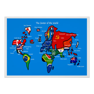 The world according to Scandinavians Poster