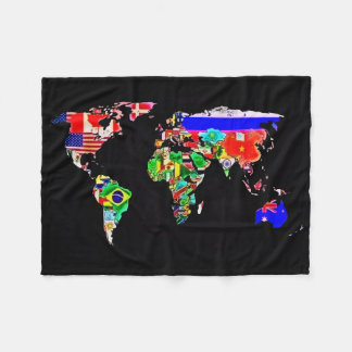 The World Airbrush Art Fleece Blanket