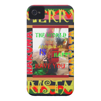 The world around Me is happy to Have You colors Me iPhone 4 Case-Mate Case