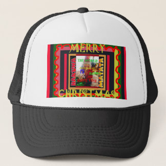 The world around Me is happy to Have You colors Me Trucker Hat