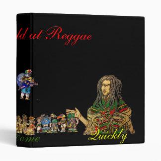 The world at Reggae 3 Ring Binder