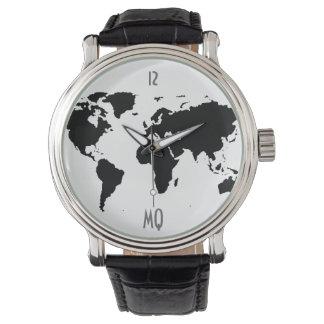 the world hour wrist watch