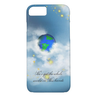 The World In His Hands Case-Mate iPhone Case