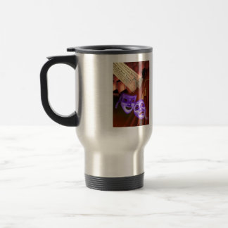 The world is a stage. God is the audience. . . 15 Oz Stainless Steel Travel Mug