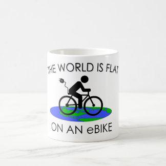 """""""The world is flat"""" mugs"""