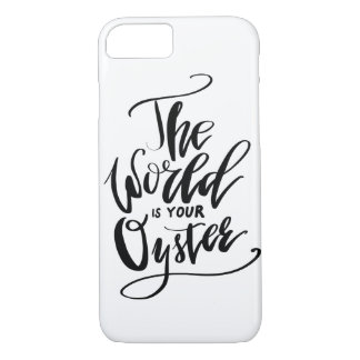 The World Is Your Oyster Case-Mate iPhone Case