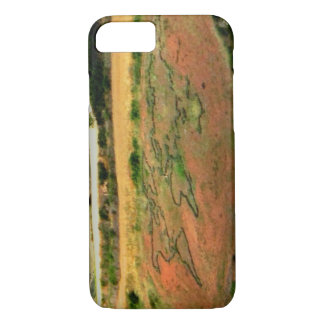 The world map of the Camino de Santiago iPhone 8/7 Case