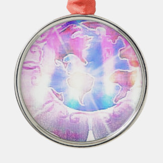 The World Metal Ornament