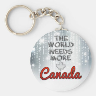 The world needs more Canada Keychain