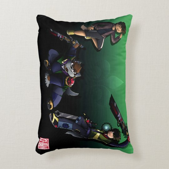 The World of Chiinferno pillow
