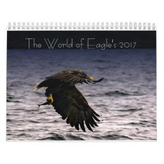 The World of Eagle's 2017 Calendar