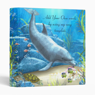 The world of the Dolphin Avery Binder