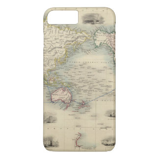 The World On Mercator's Projection iPhone 7 Plus Case
