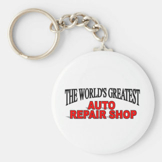 The World s Greatest Auto Repair Shop Keychain