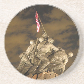 The World War II Iwo Jima Memorial Arlington VA Coaster