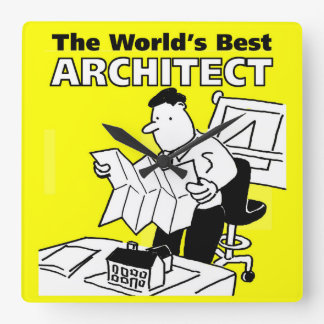 The World's Best Architect Clock
