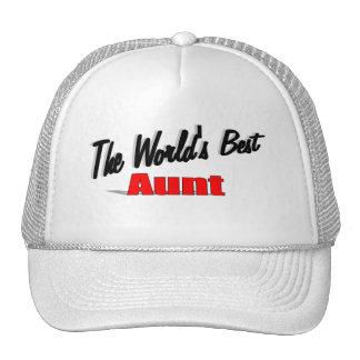 The World's Best Aunt Trucker Hat