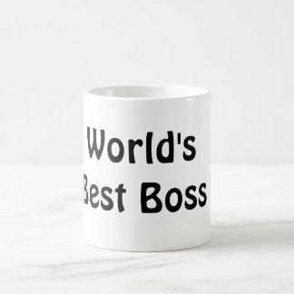 The World's Best Boss Classic White Coffee Mug