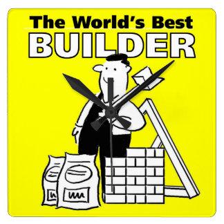 The World's Best Builder Clocks