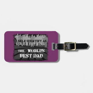 The World's Best Dad Luggage Tag