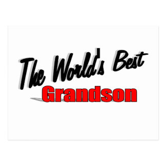 The World's Best Grandson Postcard