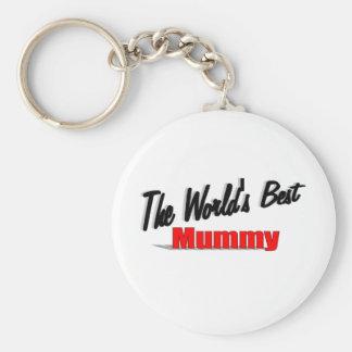 The World's Best Mummy Keychain