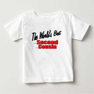 The World's Best Second Cousin Baby T-Shirt