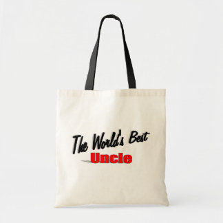 The World's Best Uncle Tote Bag