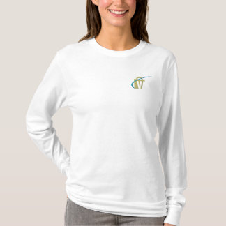 The Worlds Biggest Embroidered Ladies White Top