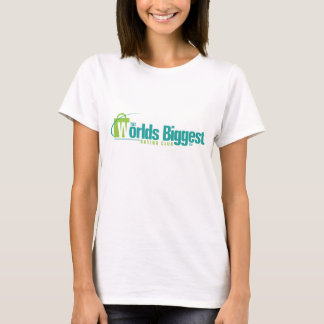 The Worlds Biggest: Women's Fitted Tee 2-sided